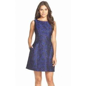 Aidan mattox dress size S BLUE AND BLACK